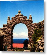 Ancient Portal Metal Print