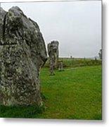 Ancient Site Of Avebury Metal Print