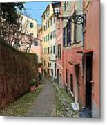ancient street in Sori Metal Print