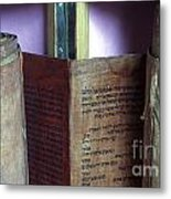 Ancient Torah Scrolls From Yemen  Metal Print