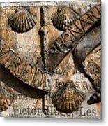 Ancient Wall With Hugo Metal Print