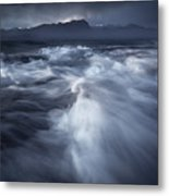 Ancient Waves Metal Print