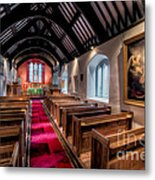 Ancient Welsh Church Metal Print by Adrian Evans