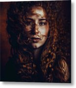 And God Said, Let There Be Redheads Metal Print