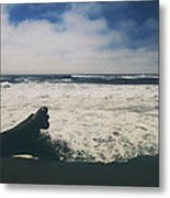 And It Goes On Metal Print by Laurie Search