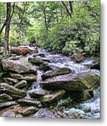 ...and The Creek Don't Rise Metal Print