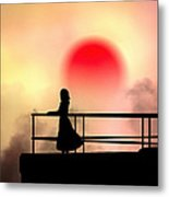And The Sun Also Rises Metal Print by Bob Orsillo