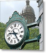 And The Time Is Metal Print