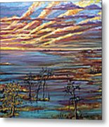 And The Trees Clapped Their Hands Metal Print