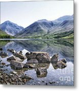 And There Was Peace... Metal Print