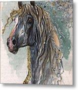 Andalusian Horse 2014 11 11 Metal Print