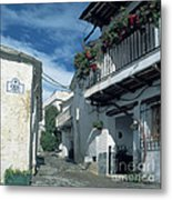 Andalusian White Village Metal Print