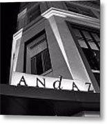 Andaz Hotel On 5th Avenue Metal Print