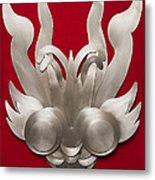 Andean Devil Mask Metal Print
