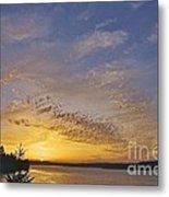 Anderson Island Sunset Metal Print