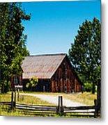 Anderson Valley Barn Metal Print