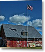 Andersons Dock Door County Wi Metal Print