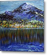 Andes Mountain Metal Print