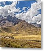 Andes Mountains - Peru Metal Print