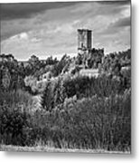 Andrade's Castle Galicia Spain Metal Print