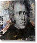 Andrew Jackson Metal Print