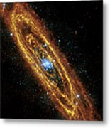 Andromeda Galaxy Metal Print by Adam Romanowicz