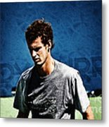 Andy Murray Metal Print by Nishanth Gopinathan