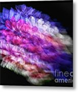 Anemone Abstract Metal Print