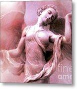 Angel Art Dreaming - Fantasy Ethereal Spiritual Angel Art Wings  Metal Print