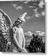 Angel At The Heredia General Cemetery Metal Print