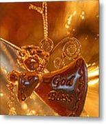 Angel Blessing Metal Print
