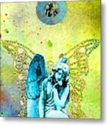 Angel Blessings 3 Metal Print