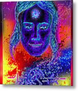 Angel Dark Metal Print