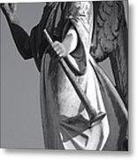 Angel Gabriel With Trumpet Metal Print