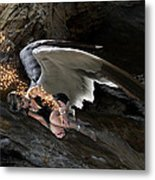 Angel- Give Your Worries To The Father Metal Print