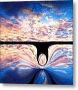 Angel In The Sky Metal Print