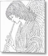 Angel Of Music Metal Print by Lorraine Foster