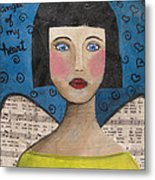 Angel Of My Heart Metal Print