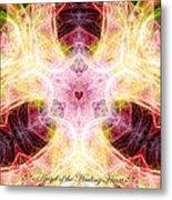 Angel Of The Healing Heart Metal Print