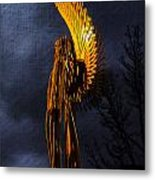 Angel Of The Morning Textured Metal Print