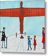 Angel Of The North Metal Print
