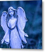 Angel Of The Rain Metal Print