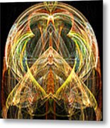 Angel Of Transformation And Change Metal Print