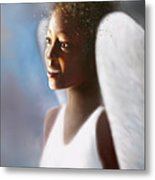 Angel Smile Metal Print