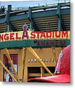 Angel Stadium Metal Print