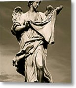 Angel Statue Metal Print