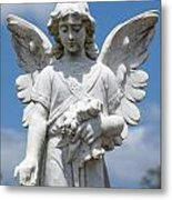 Angel Tombstone Series Metal Print