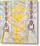 Angel Winds Flames Of Fire Metal Print