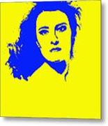 Angela Torn By Metal Print