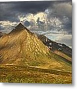 Angelcomb Mountain Lit By Late Metal Print